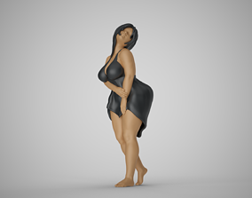 3D printable model Curvaceous Girl