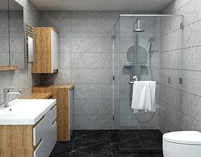 Bathroom Banyo Dizayn 3D model