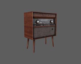 3D model realtime Old Radio