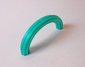 door 3D printable model Tuile Handle