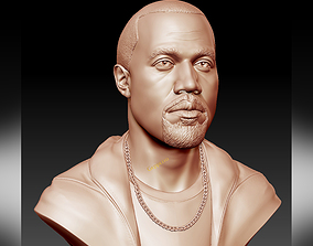 Kanye West 3D printable sculpture