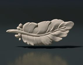 3D printable model Feather high poly