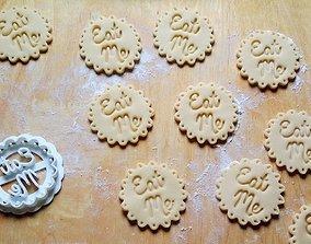3D print model Eat me cookie cutter