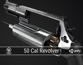 3D model PBR 50 Cal Revolver