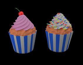 cupcake 2 cupcakes 3D