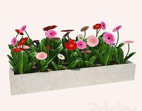3D print model flower