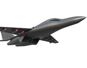 Fighter Jet 3D model realtime