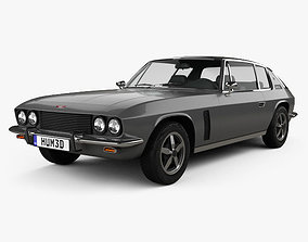 Jensen Interceptor 1969 3D model