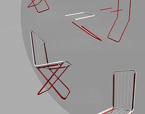 3D model robotic-arm Chair