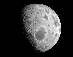 3D asset Dwarf Planet or Moon - Alien Planet 8K