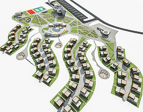 Health Spa Resort 3D asset realtime