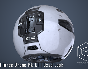 Surveillance Drone Mk1 Used Look 3D model