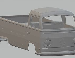 Volkswagen T2 Pickup Printable Body Van