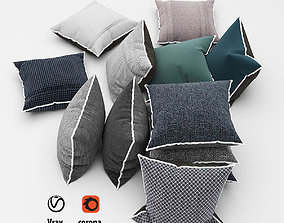 Pillows collection 53 doannguyen 3D model