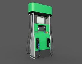 Gas Pump Realtime 3D asset
