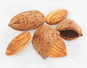 3D model Nuts almond 03