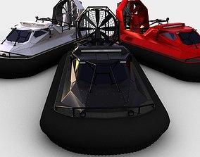 3D asset Ripsaw howercraft mod
