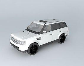 3D model Land Rover Range Rover Sport HSE 2010