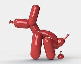 printable Balloon Dog 3D printable model