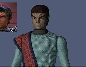 Star Trek Alidar Jarok - James Sloyan 3D print model