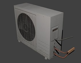 Air conditioner 3D model game-ready
