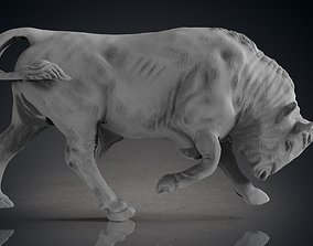 Bull Statue bull 3D print model
