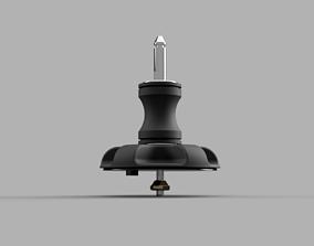 3D print model UNIFIBER baseplate U-Pin