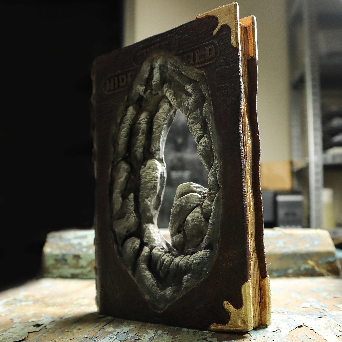 The Hidden World - 3D Printable model