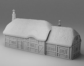Barn of vikings 3D printable model