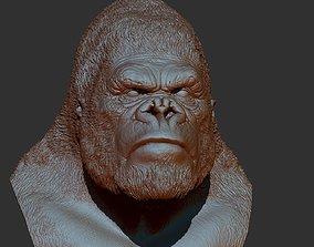 King kong bust 3D printable model