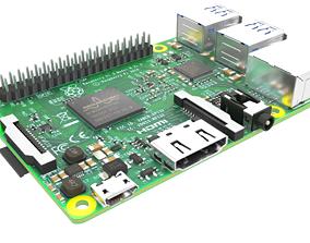 3D model PBR raspberry pi