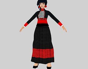 3D model ethnic minorities