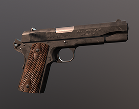 3D model Colt 1911 REWORK