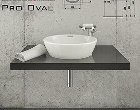 Laufen Pro Oval 812964 3D