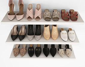 Women shoes 04 3D