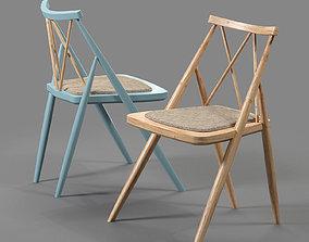 3D model Drill design Argyle chair
