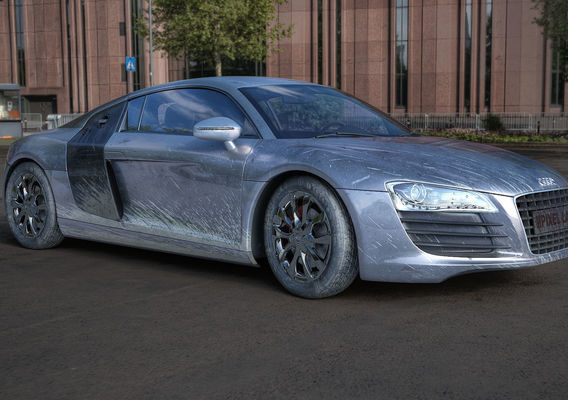 Audi R8 V8 - 3d visualization + HDR tonemapping