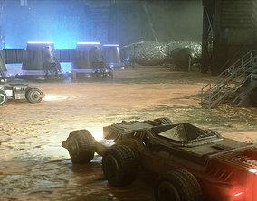 Mars Colony Base 3D model