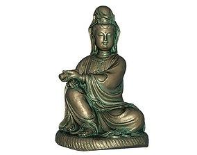asia 3D printable model Goddess of Mercy