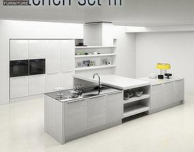 Kitchen Set P3 3D model