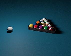 3D print model Billiard Balls Rack