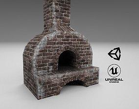 Medieval Forging Furnace 3D model