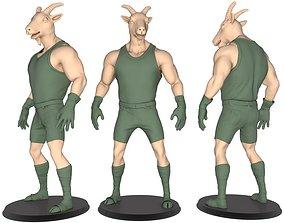Beast Man Of Goat 3D print model