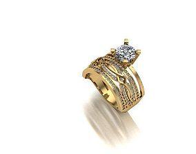 3D print model pandora wedding ring