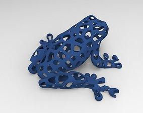 3D print model Voronoi Frog