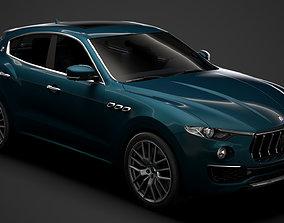 Maserati Levante GranLusso Royale 2020 3D model