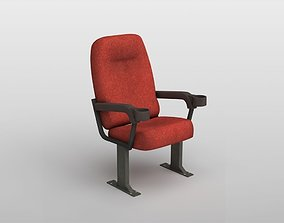 3D asset Cinema Chair