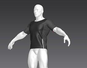 3D model Clothes for Marvelous Designer T-Shirt05