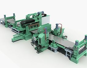 3D model Rolling equipment and shop