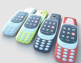 Nokia 3310 3D asset